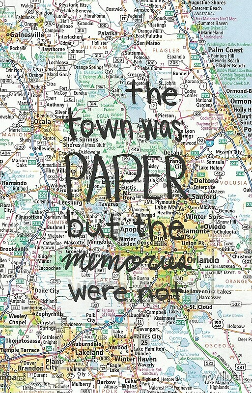 Fake Quotes Wallpaper Paper Towns Gifts Amp Merchandise Redbubble