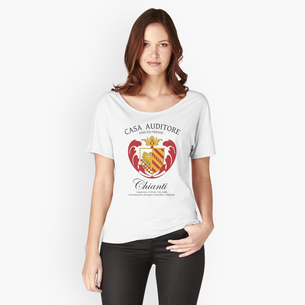 Ra T Vel Vino Auditore Women S Relaxed Fit T Shirt