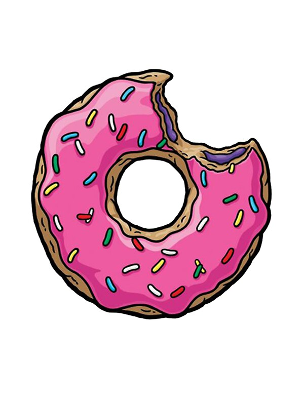 Cute Wallpaper For Ipad Mini 2 Quot Donut Quot Stickers By Jumix Redbubble