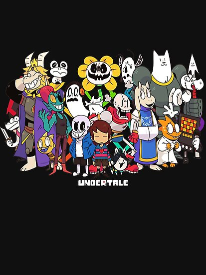 Cute Dog Wallpapers Fot Google Quot Undertale All Characters Quot Poster By Mauro6 Redbubble