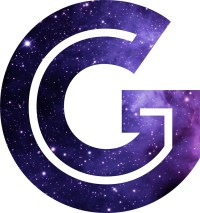 """The Letter G - Space"" Stickers by Mike Gallard 