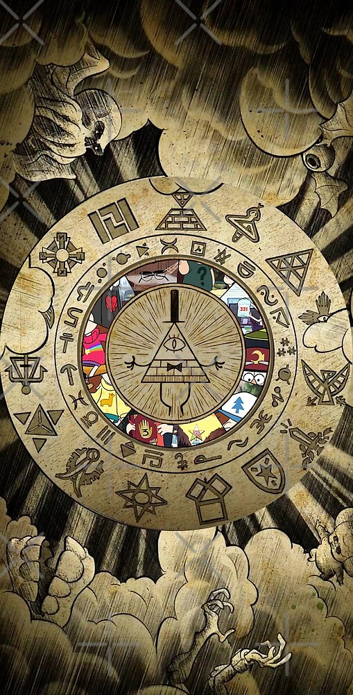 Gravity Falls Bill Cipher Wallpaper Iphone Quot Gravity Falls Bill Cipher Wheel 2 Gamer Gaming Game