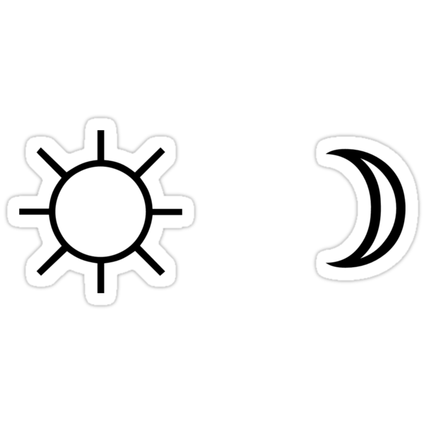 Wallpapers Fofo Cutes Quot Sun And Moon Minimalist Aesthetic Black And White Tumblr