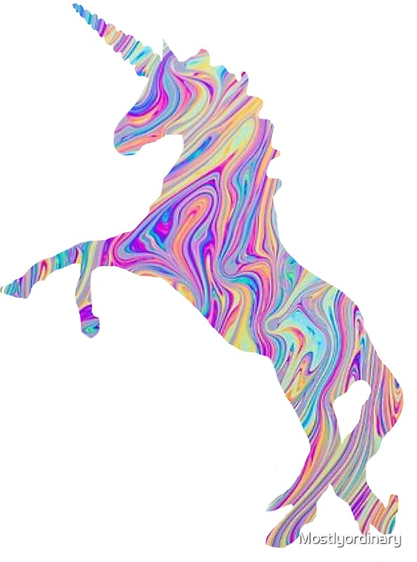 Baby Girl Wallpaper Borders Pink And Purple Tumblr Unicorn Stickers Redbubble