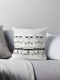 """""""Stormtrooper"""" Throw Pillows by EllLang 