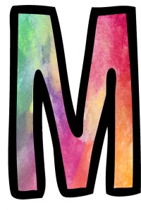 """""""Letter M"""" Stickers by ldeitch 