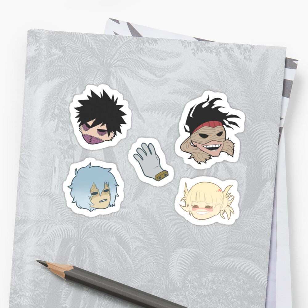 "Duvet Covers ""bnha 13"" Stickers By Toifshi 