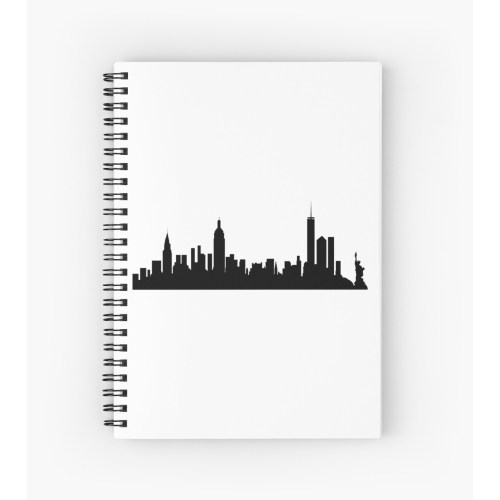 Medium Crop Of New York City Skyline Silhouette