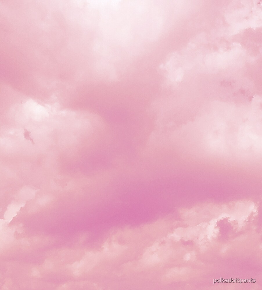Baby Ko Toddler Pastel Pink Aesthetic Clouds Nature By Polkadottpants