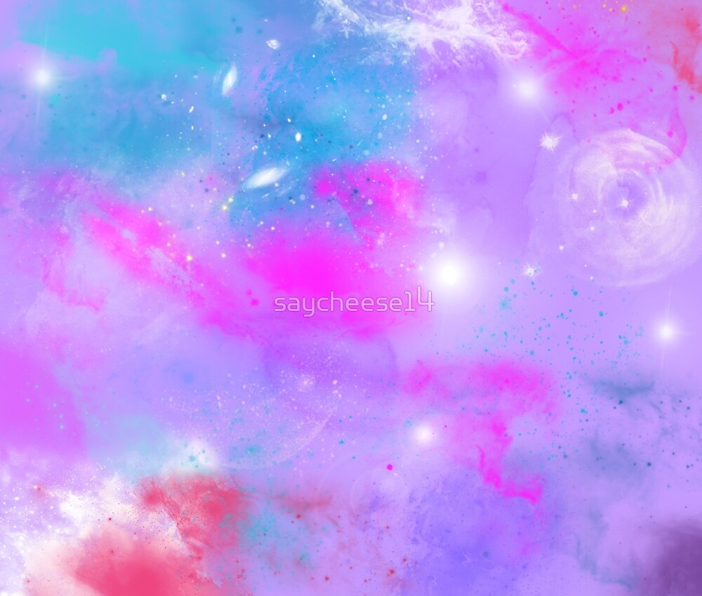 Cute Pink Cell Phone Wallpaper Quot Pastel Galaxy Quot By Saycheese14 Redbubble
