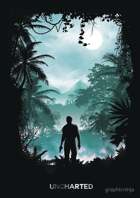 Uncharted Iphone Wallpaper Uncharted Posters Redbubble