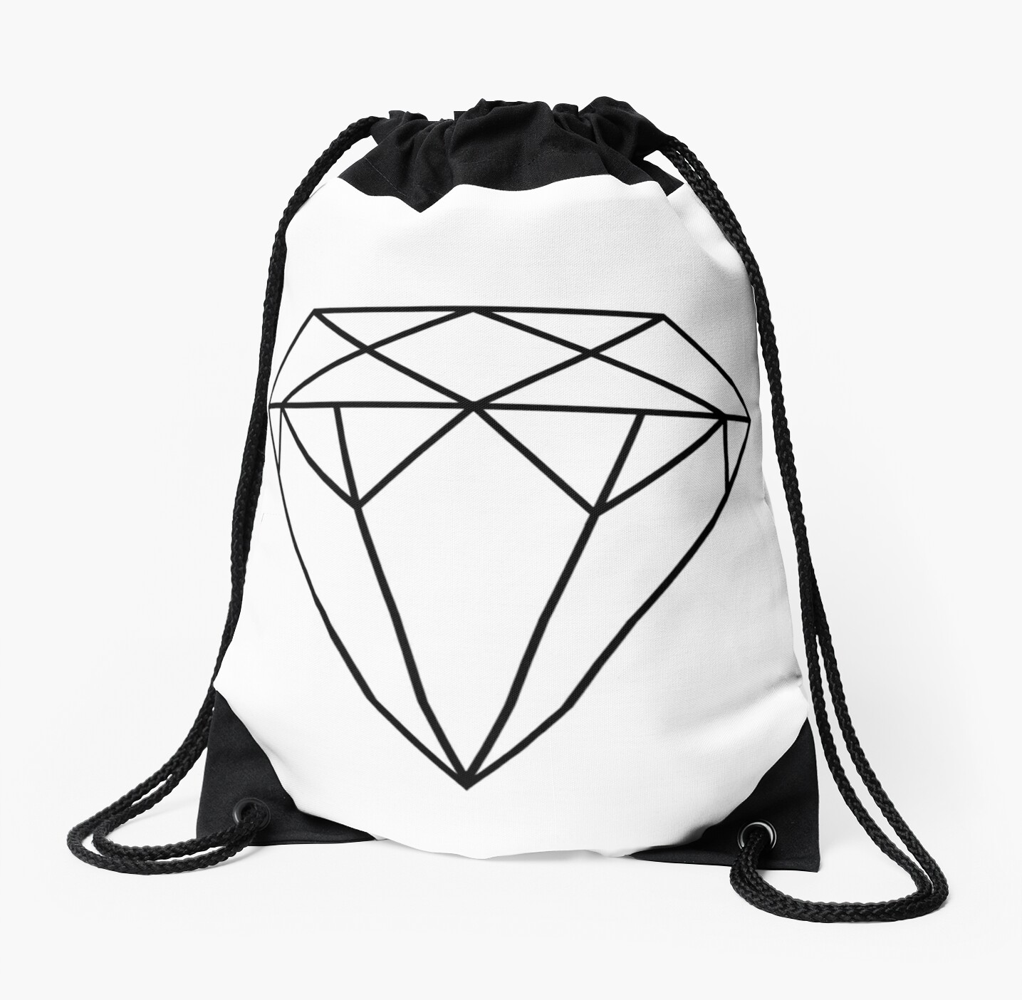 Affiche Scandinave Home Diamond Printable Affiche Scandinave Scandinavian Geometric Decor Wall Art Geometric Print Home Decor Printable Poster Drawstring Bag By Nathan