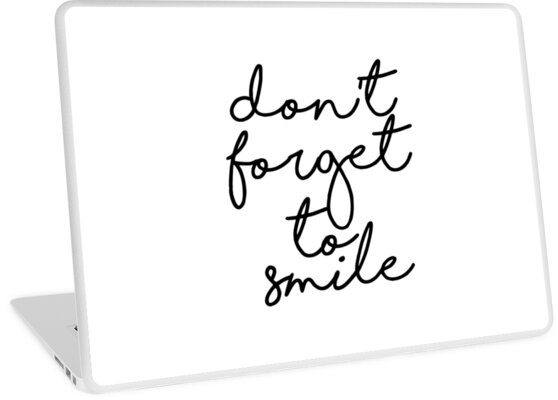 Inspirational Art Don\u0027t Forget To Smile Printable Quote Nursery