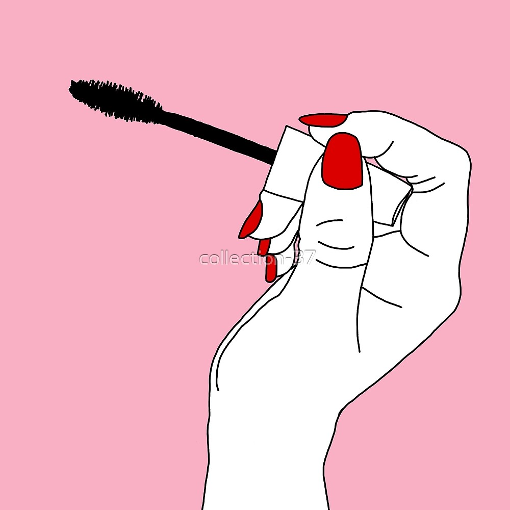 Weed Quotes Wallpaper Hd Quot Pop Art Pink Tumblr Mascara Line Drawing Quot By Collection