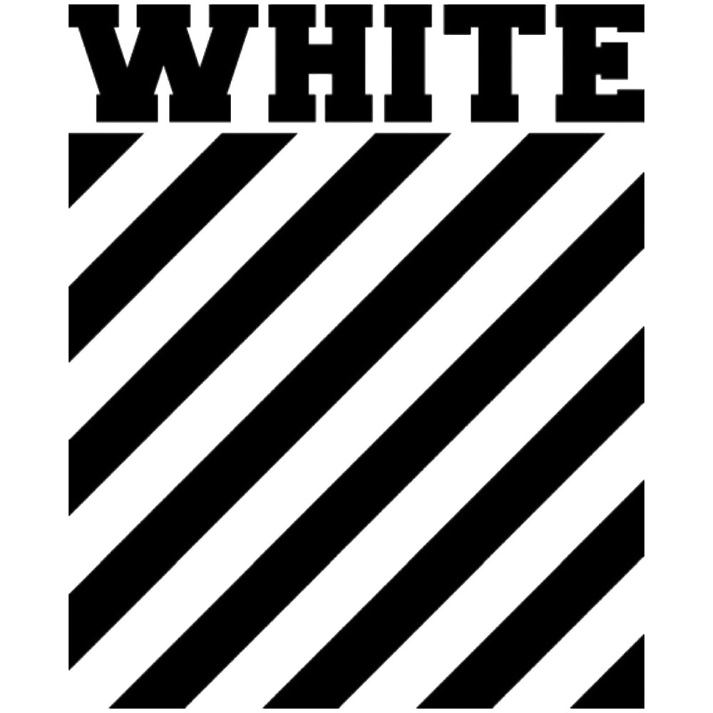 Wallpaper Off White Iphone X Quot Off White Logo Stripes Quot By Picture Of Nature Redbubble