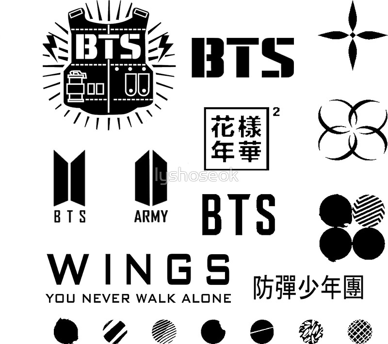 Bts Quotes Wallpaper Iphone Hd Bangtan Boys Stickers Redbubble