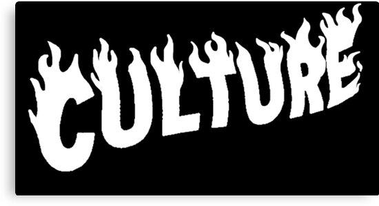 Migos Culture La Flame Logo\ - flame logo