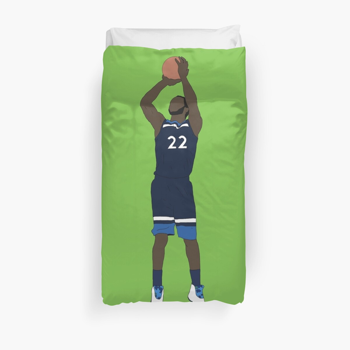 Winners Duvet Covers Quotandrew Wiggins Game Winner Quot Duvet Covers By Rattraptees