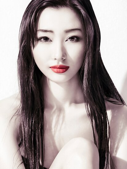 Beautiful Girl Face Wallpaper Quot Sensual Beauty Portrait Of Young Japanese Woman Face With