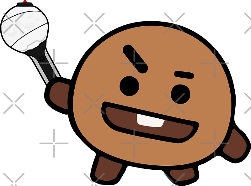 Bts Iphone Wallpaper Quot Bt21 Shooky 2 0 Quot Stickers By Thalimarie Redbubble