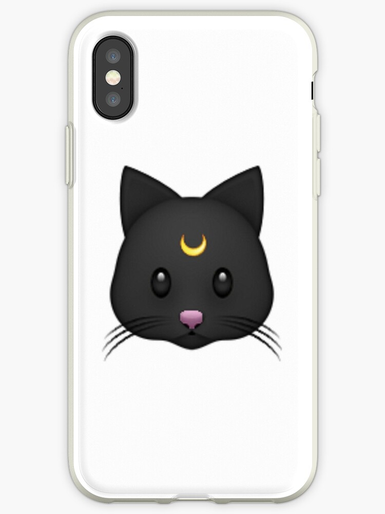 Luna Black Cat Emoji\