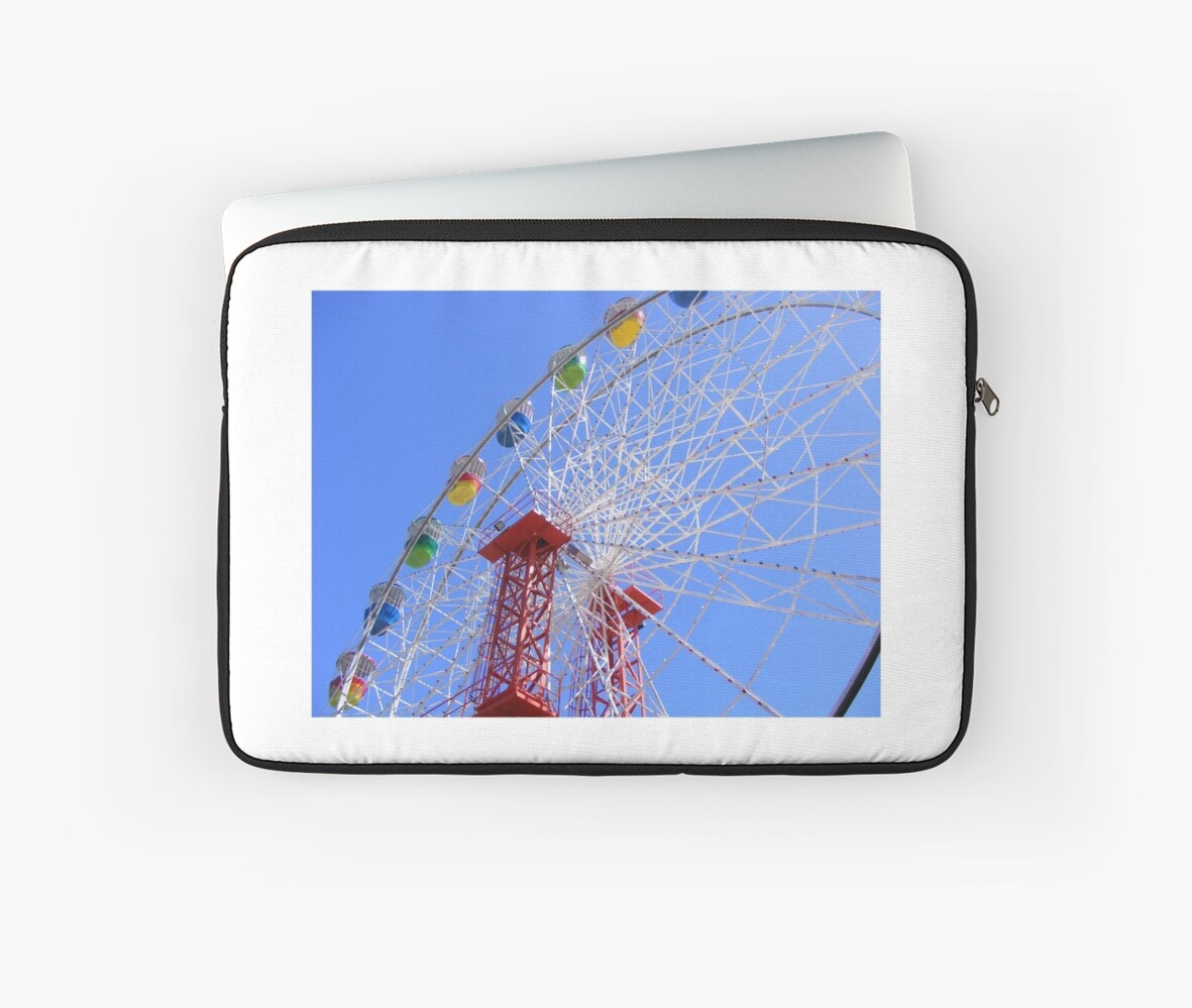 Buy Laptop Adelaide The Iconic Wayville Ferris Wheel Adelaide Showgrounds South Australia Laptop Sleeve By Rebecca Hansen