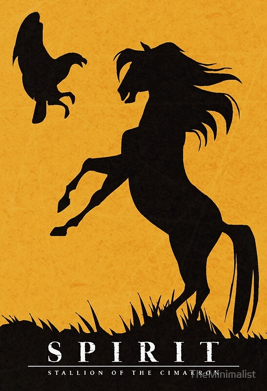 Falling Snow Wallpaper Note 3 Quot Spirit Stallion Of The Cimarron Minimalist Quot Posters By