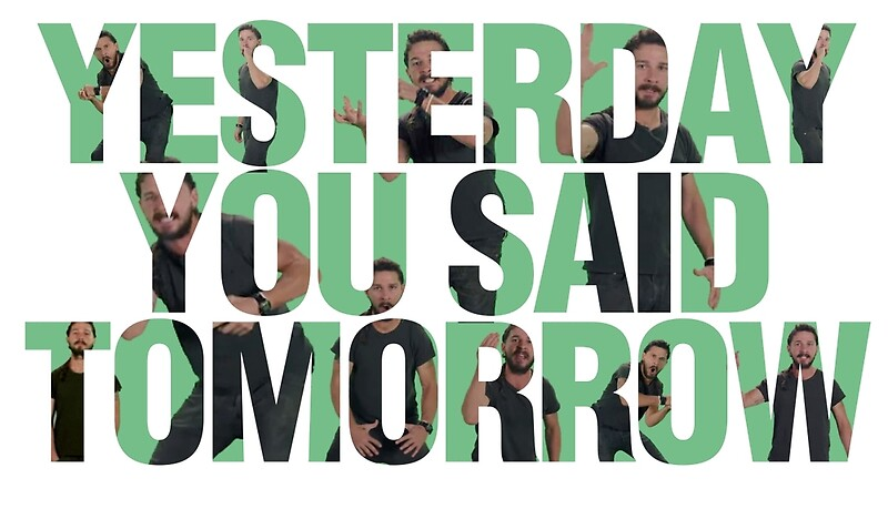 Just Do It Quote Wallpaper Shia I Would Accept My Death By Snu Snu Pics