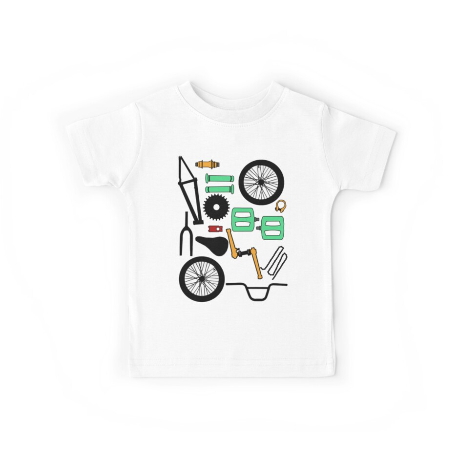 Bmx Parts Bmx Parts Kids Clothes By Davo532