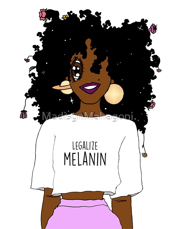 Pretty Girl Quotes Wallpapers Quot Legalize Melanin O Aba Quot Stickers By Madisynmahagoni