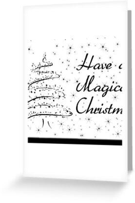 black n white christmas card\ - christmas cards black and white