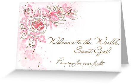 Welcome to the World, Sweet Girl - NICU baby\