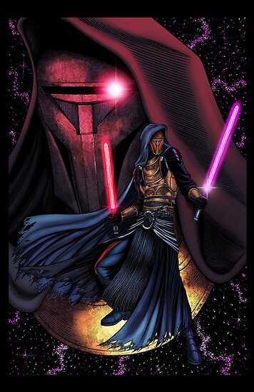 Custom Iphone X Wallpaper Quot Darth Revan Quot Posters By Jasenstation Redbubble
