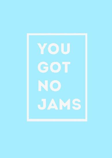 Iphone X Frame Wallpaper Quot Bts Bangtan Sonyeondan You Got No Jams Blue Quot Posters
