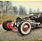 Hot Rod in the Mist by YepGraphix