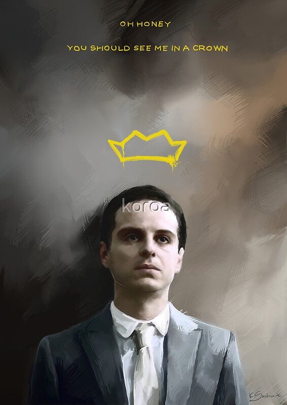 Sherlock Iphone Wallpaper Quote Quot Moriarty Portrait Quot Posters By Koroa Redbubble