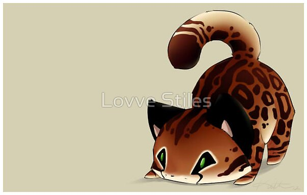 Cute Wallpaper For Ipad Mini 2 Quot Chibi Cheetah Quot By Lovve Stiles Redbubble