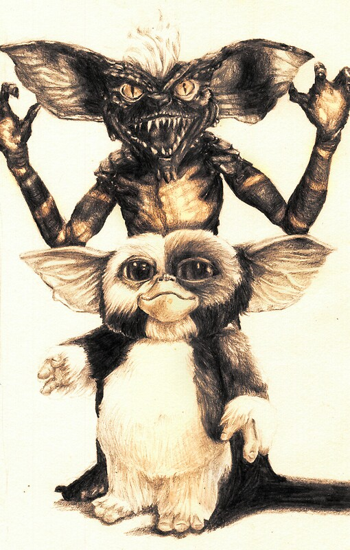 Wallpaper Off White Iphone X Quot Gizmo And Spike From Gremlins Quot Framed Prints By Aaronbir