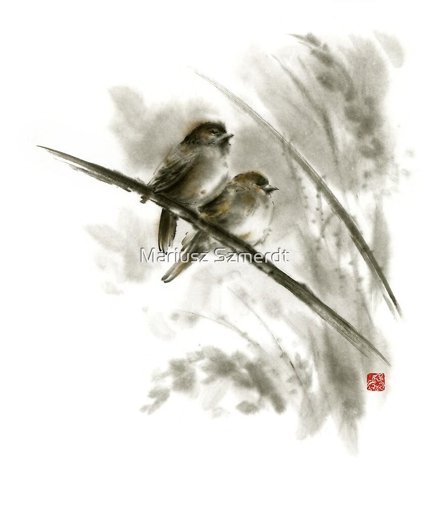 """""""Sparrows sumi"""