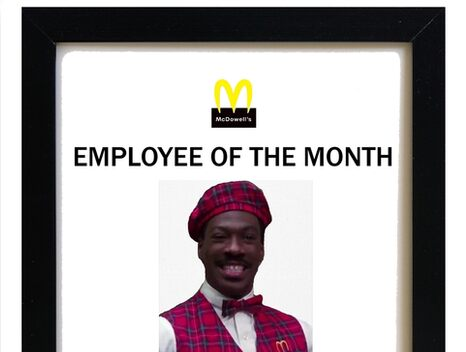 Employee of the month\