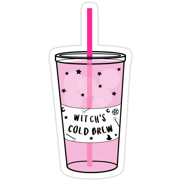 Cute Wallpapers For Phone Cases Quot Witchy Cold Brew Coffee ☽ Trendy Hipster Tumblr Meme