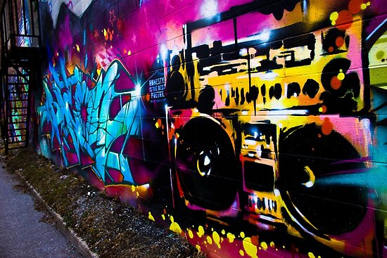 Babies From Baby Boom Boombox Graffiti Poster By Dunthorne04 Redbubble