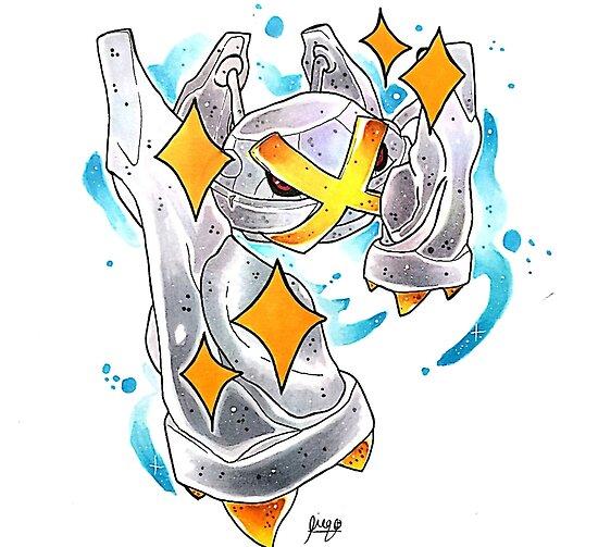 Shiny Metagross\
