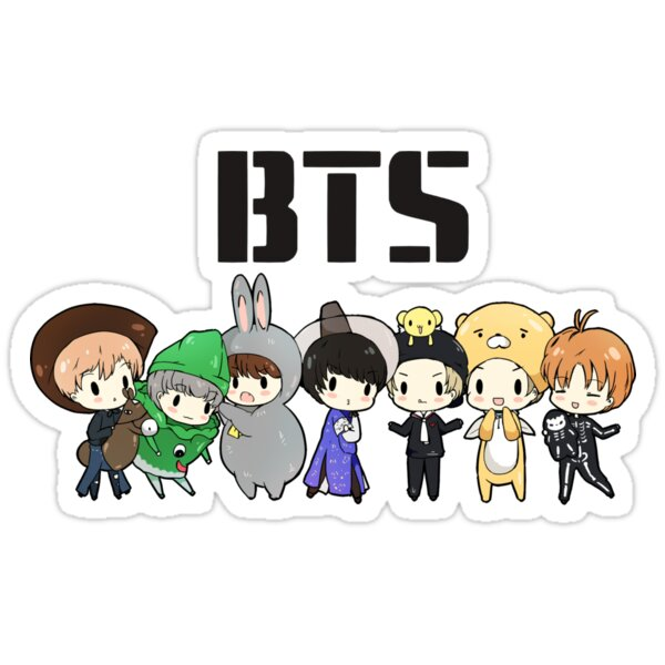 Cute Babies Wallpaper With Tears Quot Bts 21st Century Girls Halloween Ver Quot Stickers By
