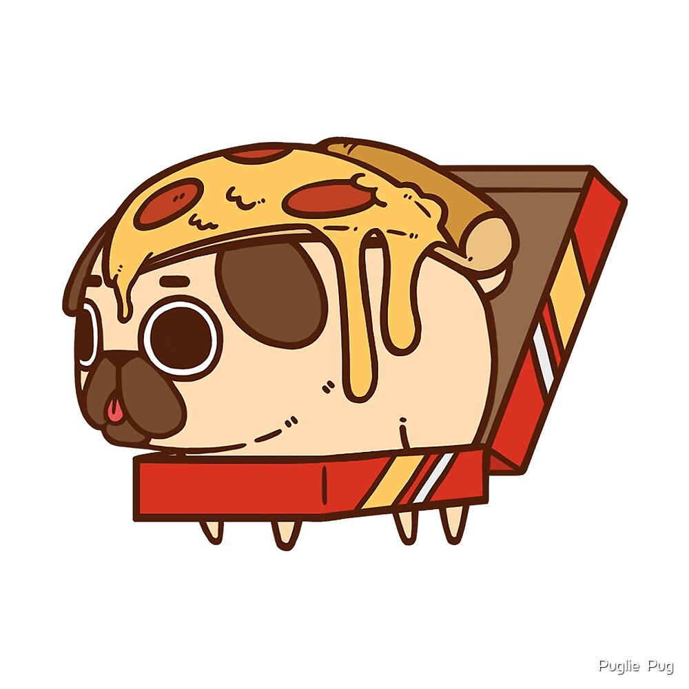 Cute Wallpaper For Ipad Mini 2 Quot Puglie Pizza Quot By Puglie Pug Redbubble