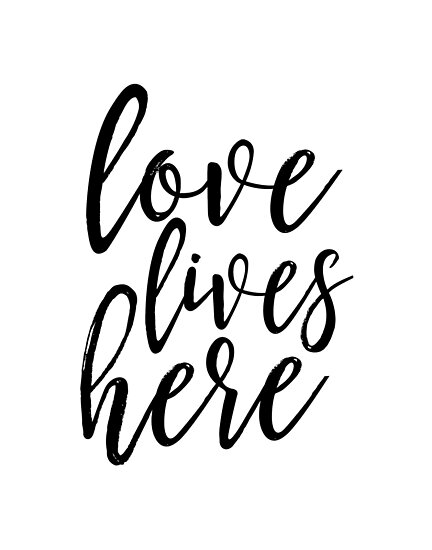 love lives here,family sign,home decor,love sign,home wall art