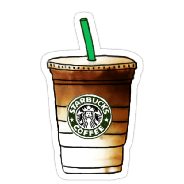 Cute Frappuccino Wallpaper Quot Starbucks Quot Stickers By Emilyweis1001 Redbubble