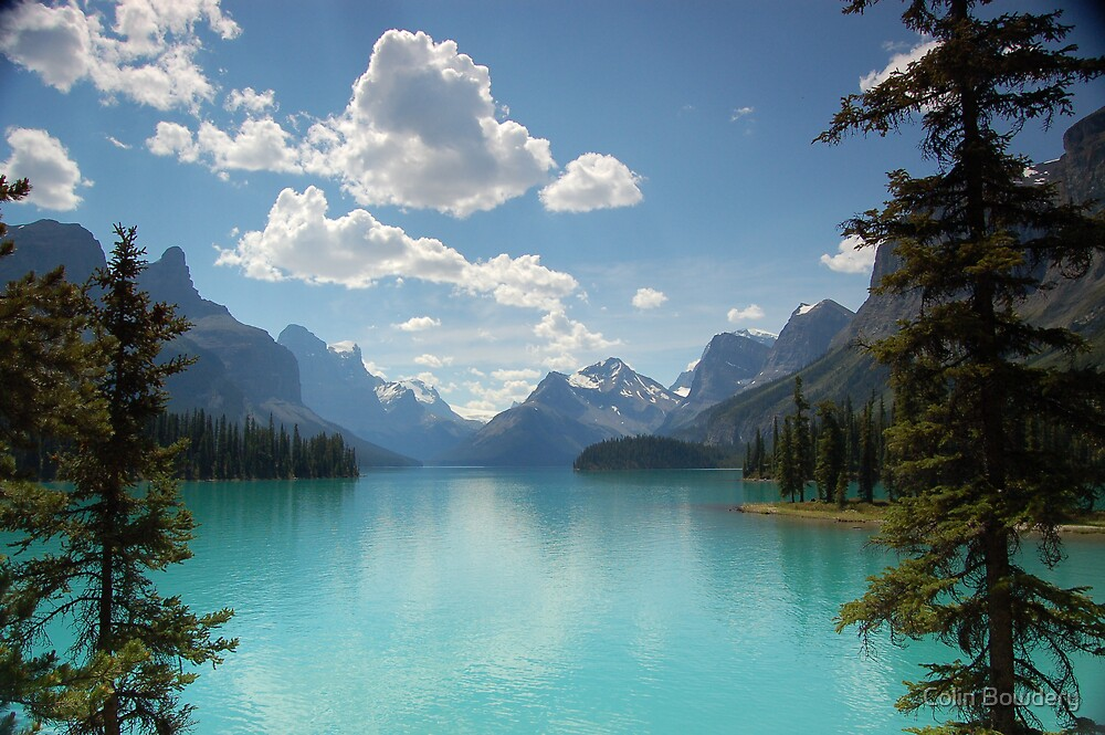 Mountain Iphone Wallpaper Quot Maligne Lake Jasper National Park Canada Quot By Colin