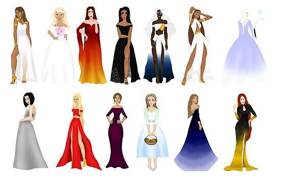 ACOTAR Fashion Design\