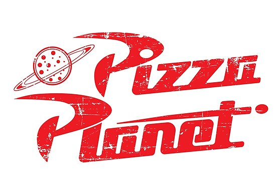 Quotpizza Planet Logoquot Posters By Oboyd Redbubble